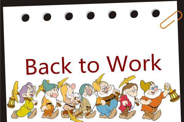 Hi Ho, Hi Ho, It's Back to Work WeGo!